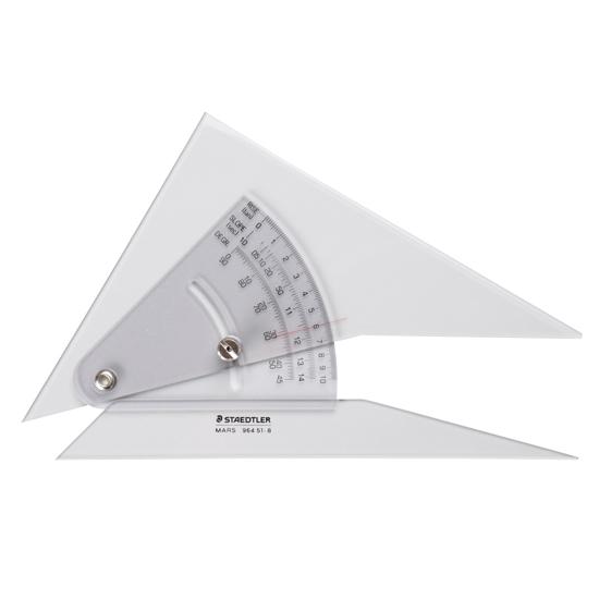 マルス勾配三角定規20cm・ステッドラー